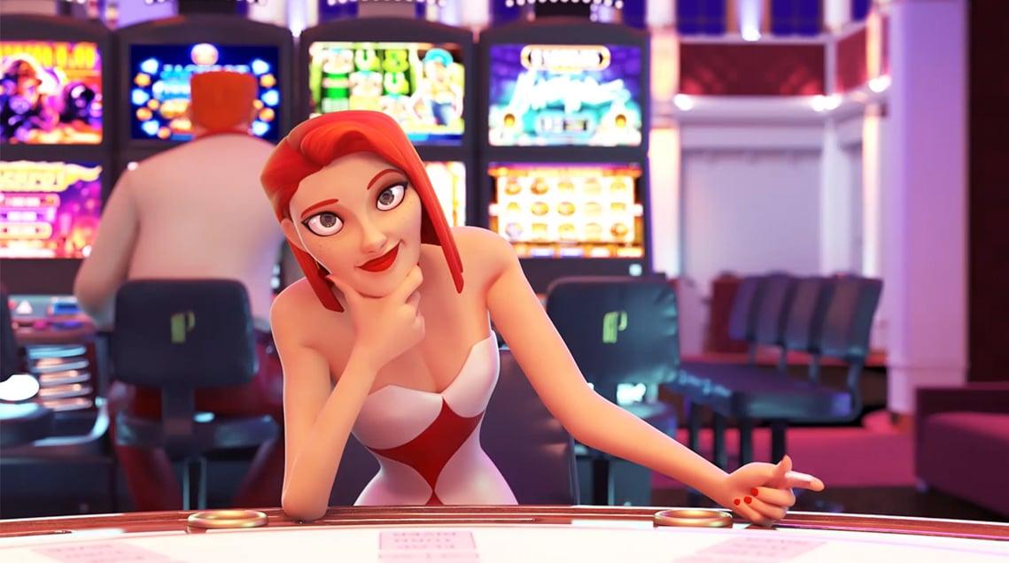 Film animation 3D pour les casinos Partouche