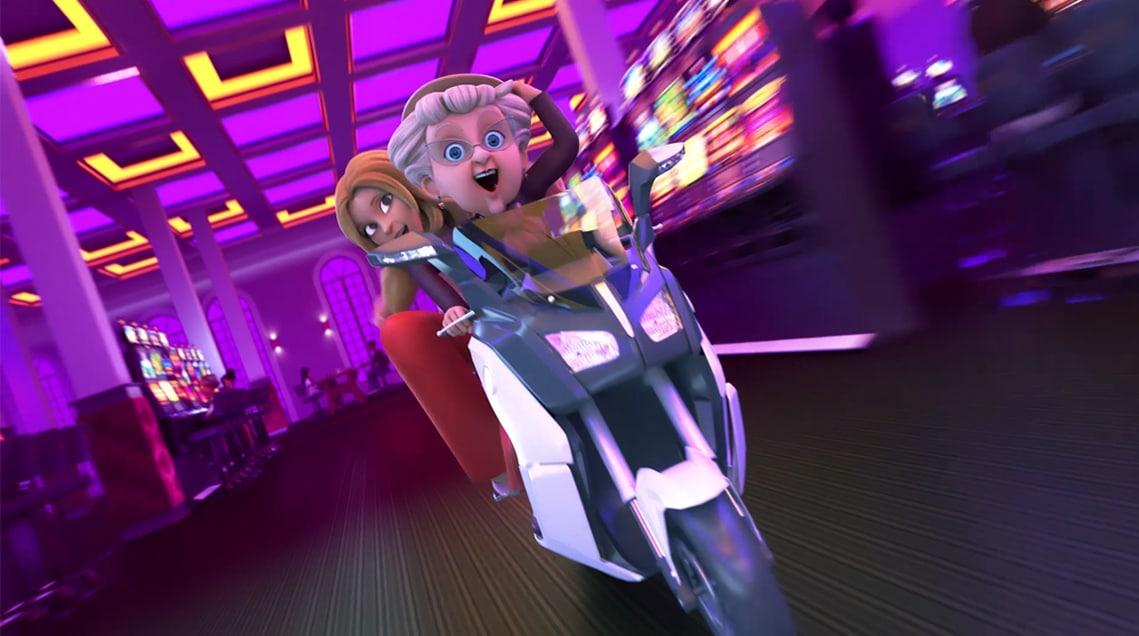 Animation des personnages et Modélisation 3D des décors