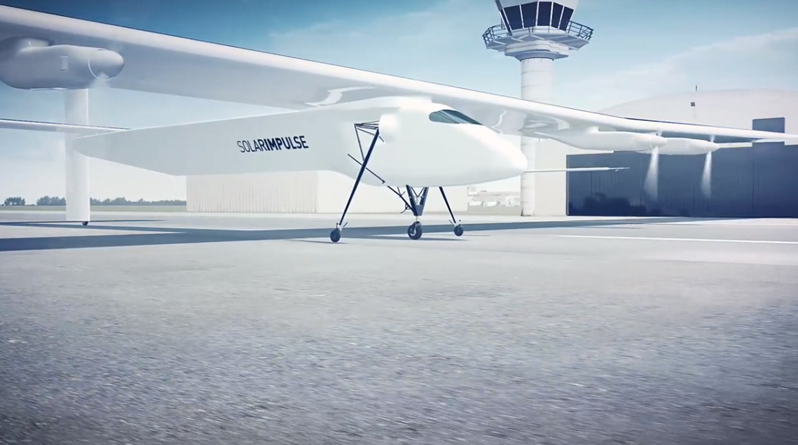 Film 3D Solar Impulse par l'agence Dripmoon