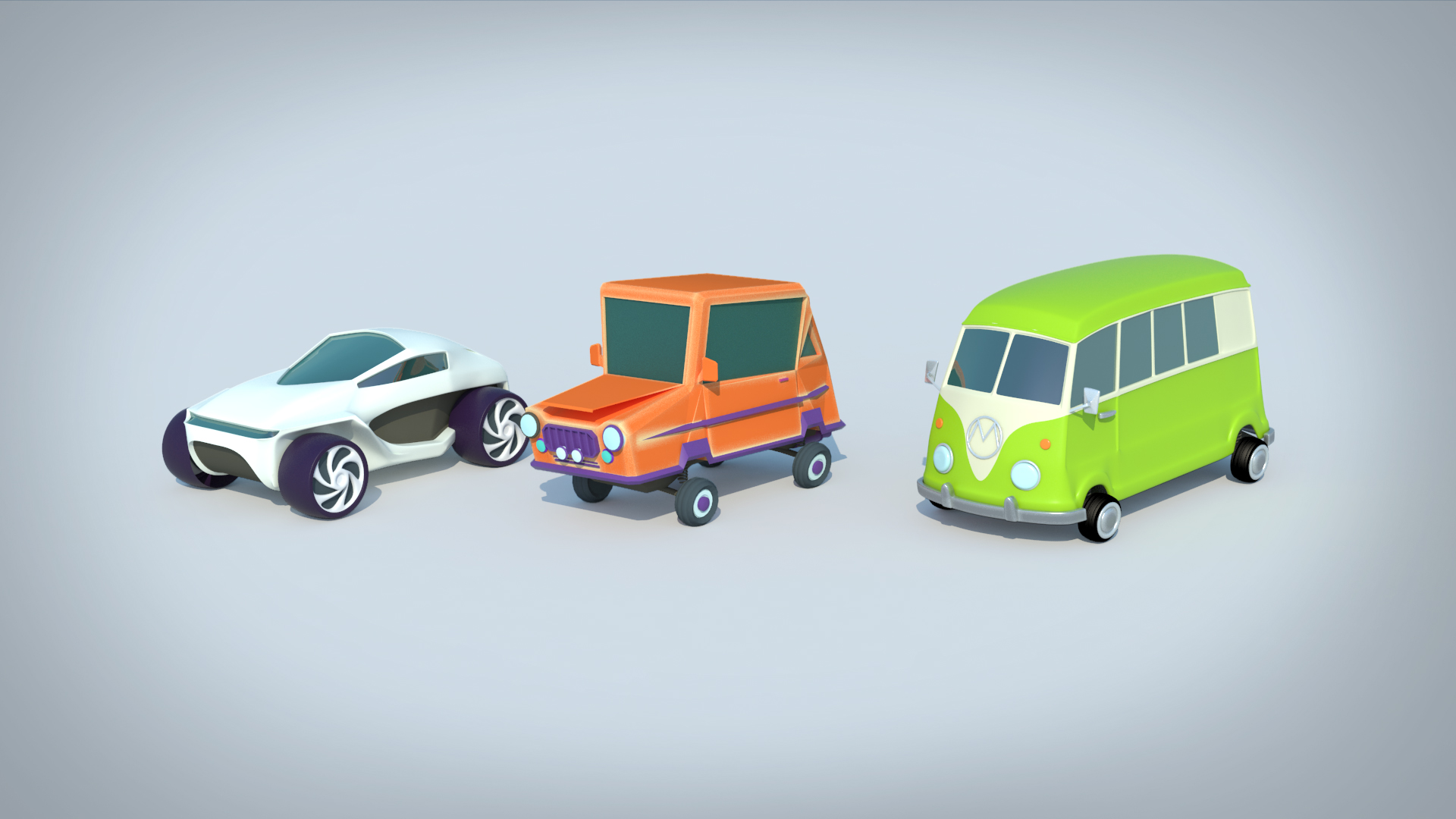 GALERIE-Dripmoon-Studio 3D-Tours-Motion design - Voeux Meccoli - Low poly - isometric video 5