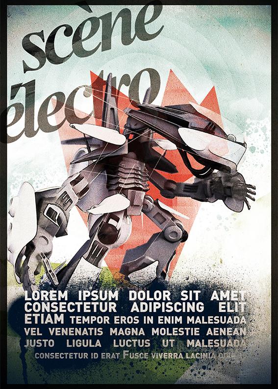 GALERIE-Dripmoon-Studio 3D-Tours-Motion design - Affiche terres du son festival musique 2011 2
