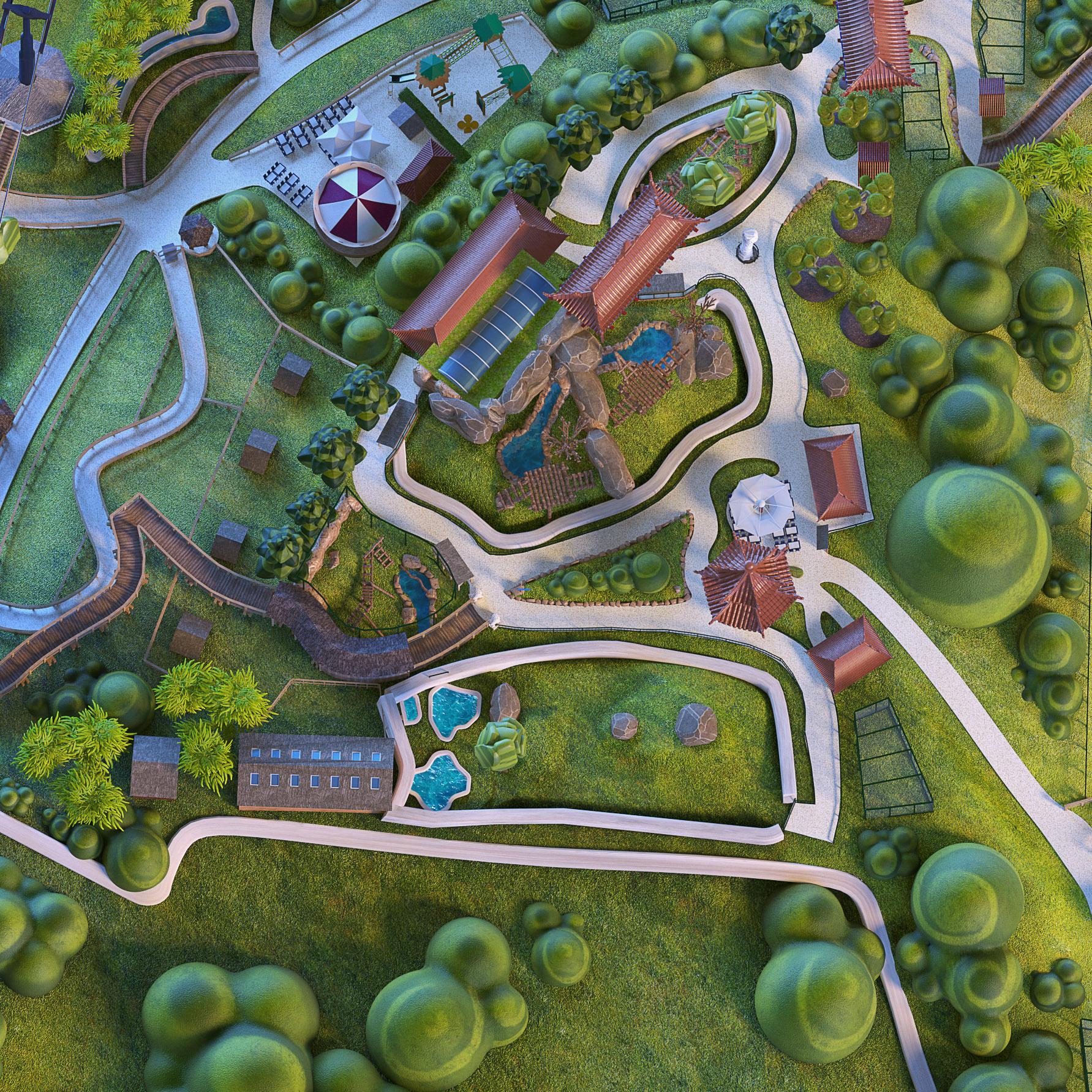 GALERIE-Dripmoon-Studio-3D-Tours-Motion-design-Zooparc-de-Beauval-Plan-du-parc 3