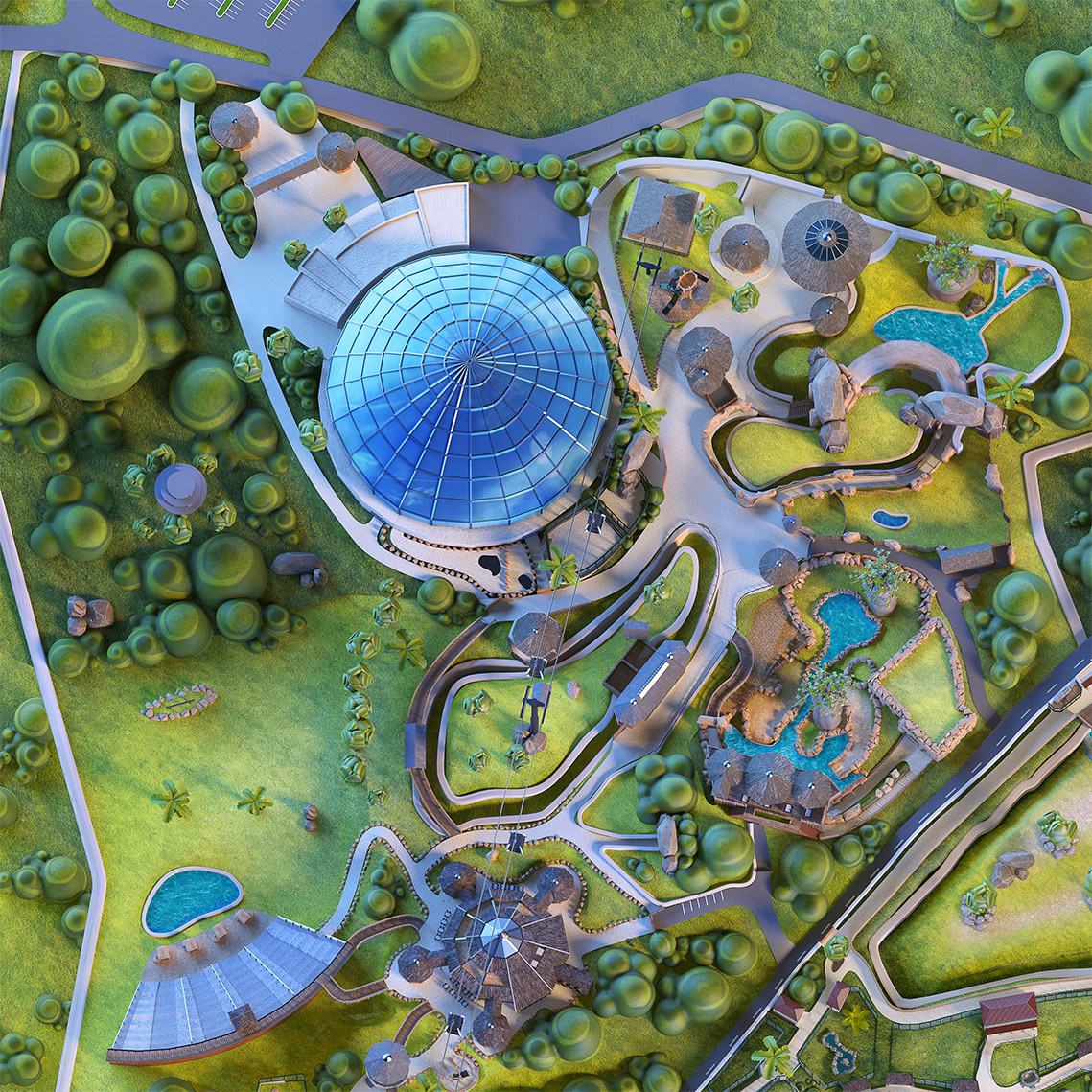 GALERIE-Dripmoon-Studio-3D-Tours-Motion-design-Zooparc-de-Beauval-Plan-du-parc 6